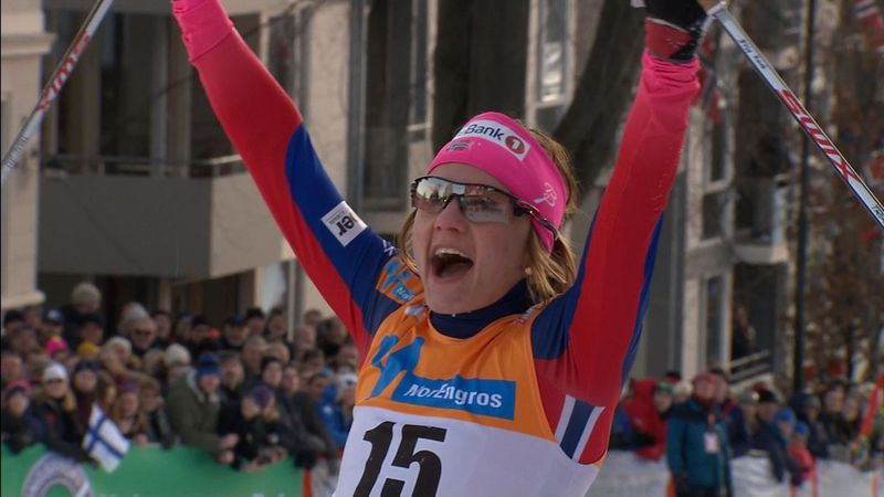Sprint in Drammen: Norweger dominieren