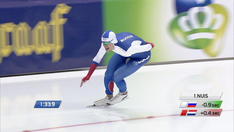 Russian star claims World Championship speed skating gold