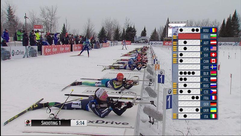 Biathlon, la Rep. Ceca vince la staffetta femminile