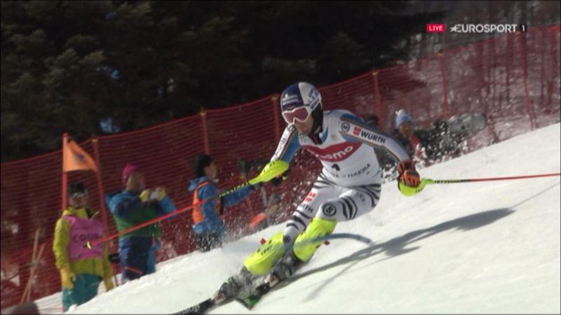 Slalom Naeba (1. Lauf) : Dopfer fährt Bestzeit