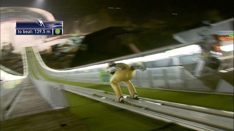 Freund springt zum Schanzenrekord in Almaty