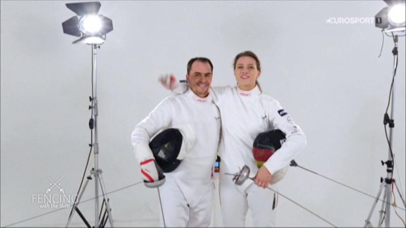 Fencing with Michael Greis