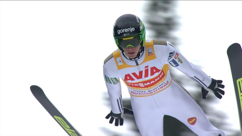 Peter Prevc comes up short of Forfang at Titisee-Neustadt