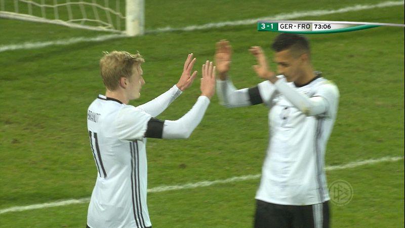 U21-Highlights: Alle Tore vom DFB-Sieg
