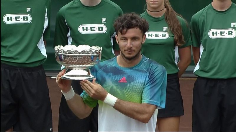 Juan Monaco beats Jack Sock to win in Houston
