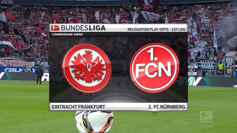 Frankfurt - Nurnberg: 1-1 (Maç Özeti)