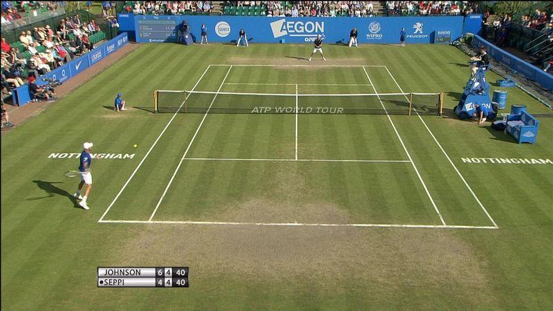 Стив Джонсон вышел в финал турнира в Ноттингеме
