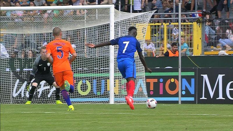 U19 Avrupa Şampiyonası: Fransa - Hollanda (MAÇ ÖZETİ)
