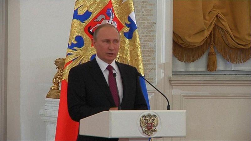 Vladimir Putin: Russian Paralympic ban 'hypocritical, cowardly'