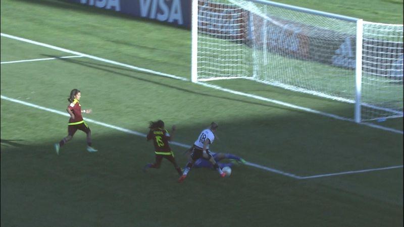 Mondiali U17 femminili: Venezuela-Germania 1-2, gli highlights