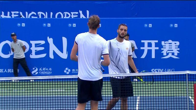 Viktor Troicki beats Kevin Anderson to make semi-finals