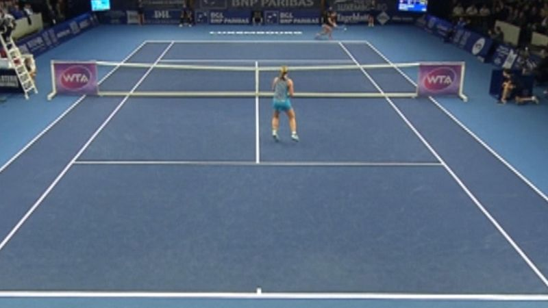 Niculescu in finale al WTA di Lussemburgo, surclassata la Bertens