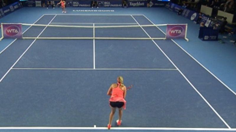 Kvitova, finalista en el WTA Luxemburgo