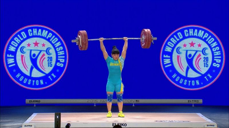 Three Kazakh weightlifters stripped of 2012 gold medals