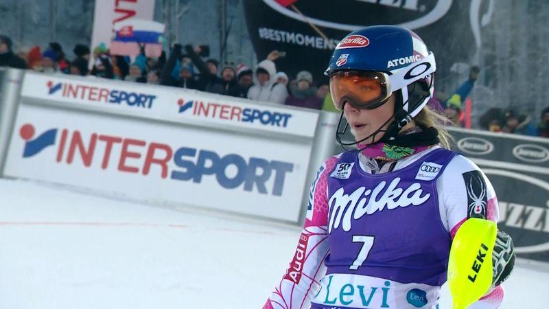 Mikaela Shiffrin gana el eslalon de Levi