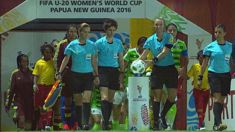 Mondiali Under 20 femminili: Venezuala-Messico 2-3, gli highlights