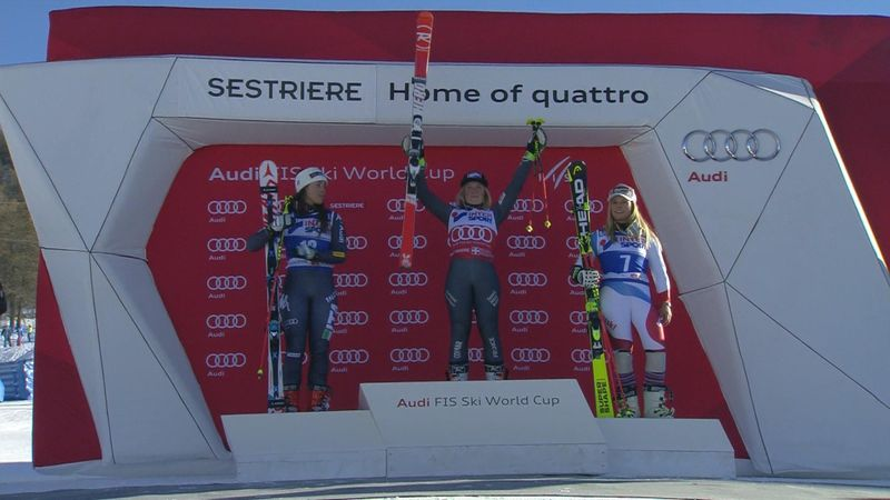 Tessa Worley takes second successive win in Giant Slalom