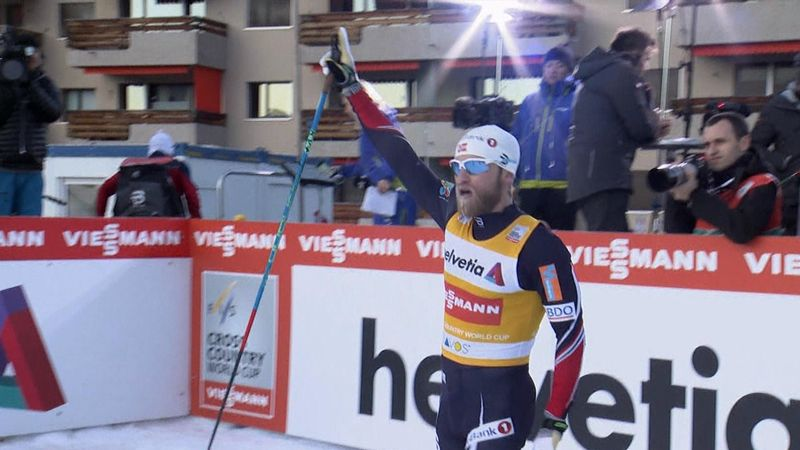 Sundby claims first win of season in Davos
