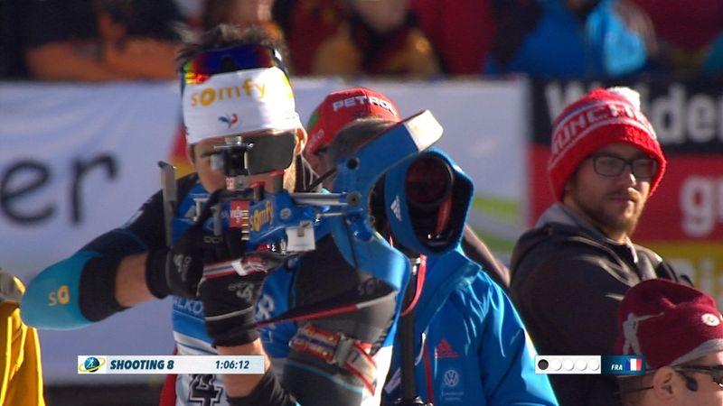 France cap superb weekend in Pokljuka with relay win