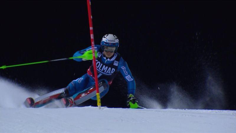 Henrik Kristoffersen takes victory in Madonna di Campiglio slalom