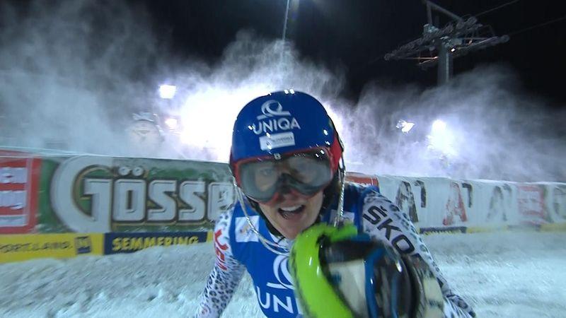 Veronika Zuzulova 2a in slalom per la 3a volta di fila