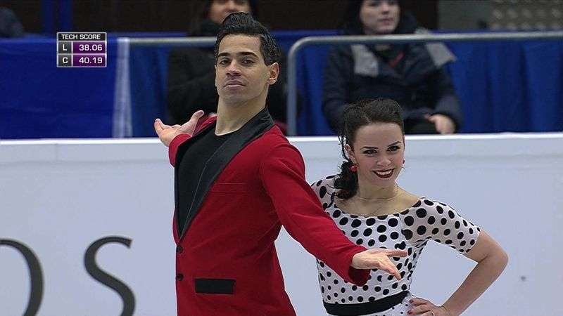 Cappellini and Lanotte win Ice Dance