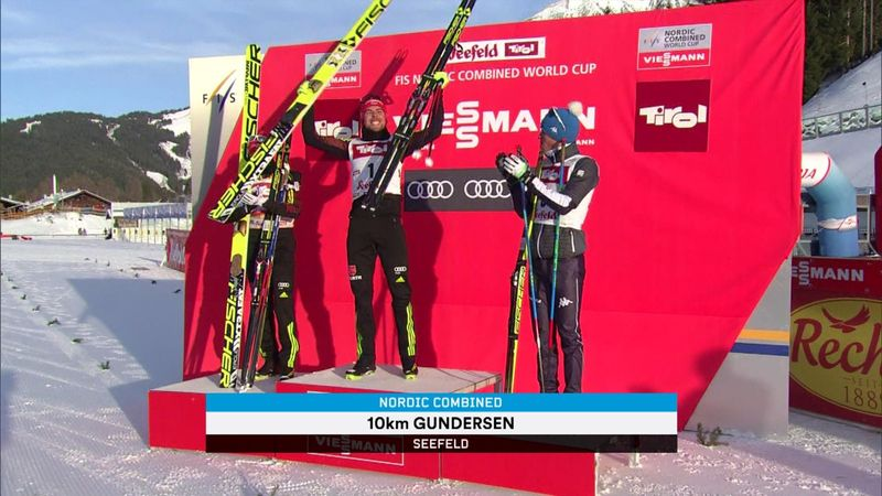 Johannes Rydzek wins again in Nordic combined