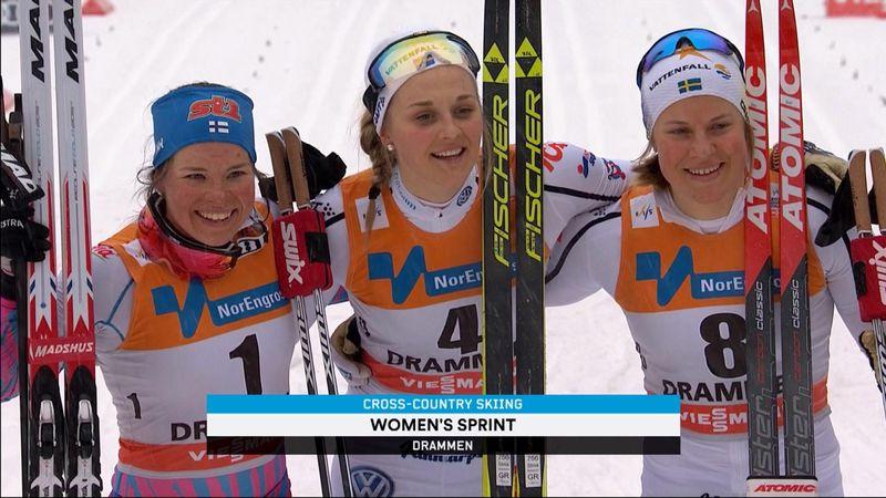 Cross country - Drammen: Men's and Women's sprint