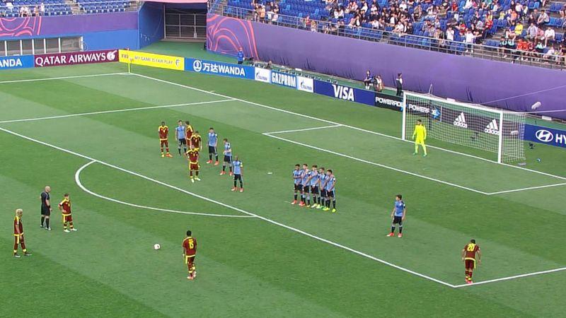 Mondiali Under 20, Uruguay-Venezuela 4-5 d.c.r.: gli highlights