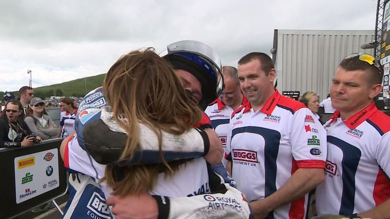 Jake Dixon's emotion at brilliant first BSB victory