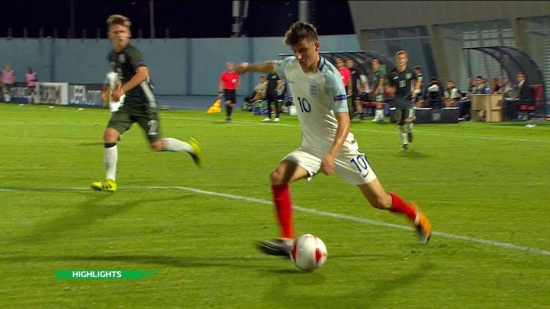 Europeo Sub 19, Inglaterra-Alemania: Correctivo rumbo a semifinales (4-1)