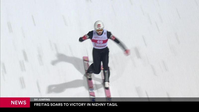 Freitag claims victory in Nizhny Tagil