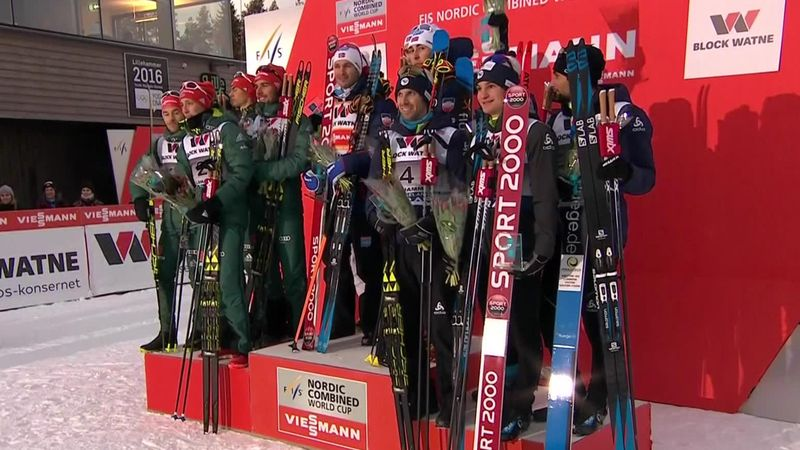 Norway hold off Germany for team win on home snow