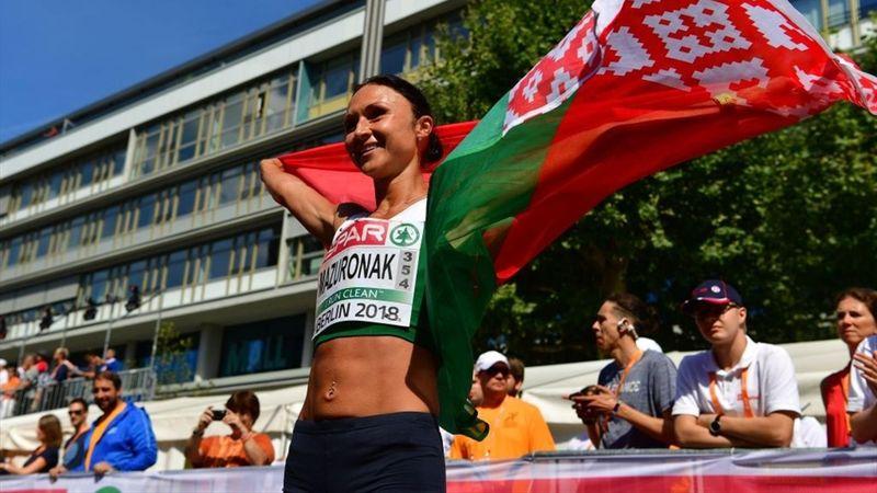 Mazuronak gana el oro en el maratón femenino