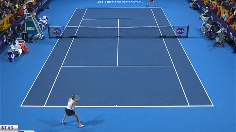 Pliskova domine Martic en finale à Zhengzhou
