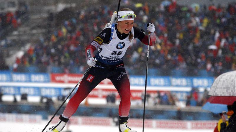 Tiril Eckhoff, victorioasă în proba de pursuit de la Annecy-Le Grand Bornand