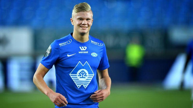 The birth of a superstar: When Haaland scored 4 goals in 21 minutesfor Molde