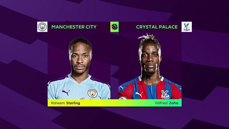 ePremier League: Manchester City vs Crystal Palace