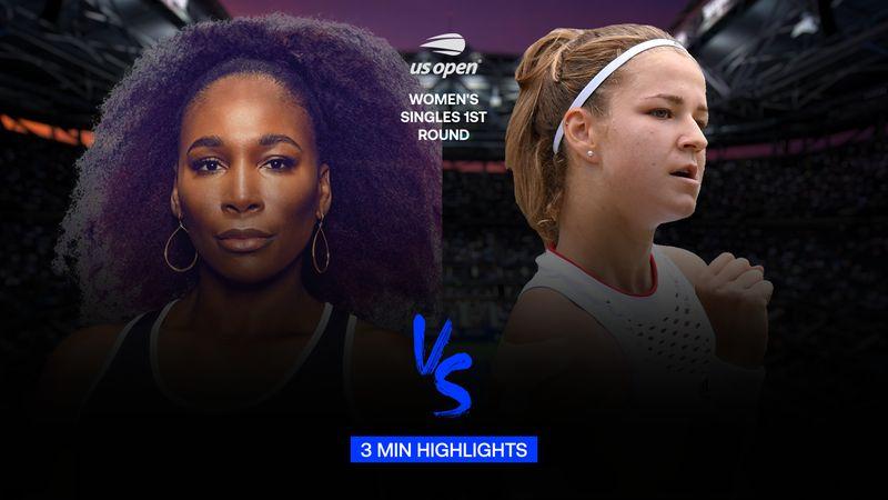 Highlights | Karolina Muchova - Venus Williams