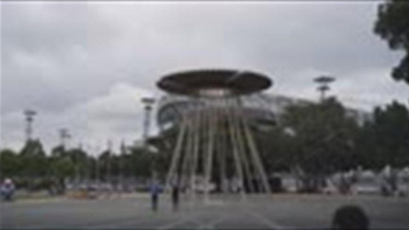 Sydney 2000 - La vasque rallumée pour le 20e anniversaire des Jeux