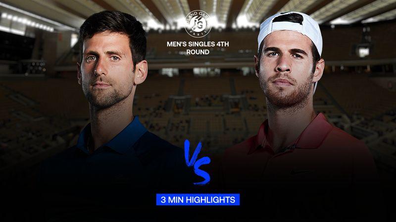 Maç Özeti | Novak Djokovic - Karen Khachanov