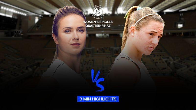 Highlights | Elina Svitolina - Nadia Podoroska