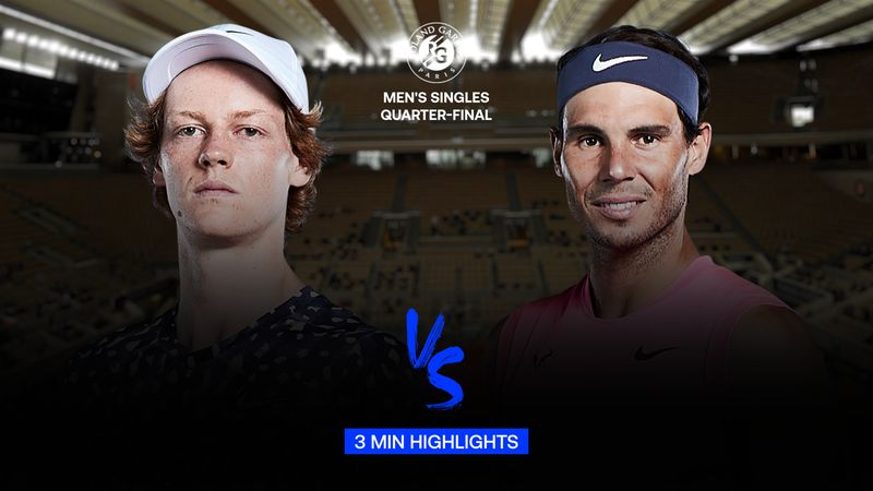 Highlights | Jannik Sinner - Rafael Nadal