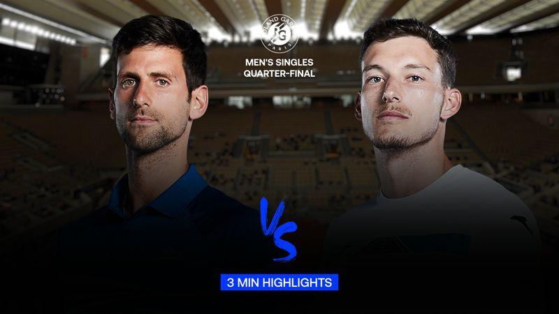 Maç Özeti | Novak Djokovic - Pablo Carreno Busta