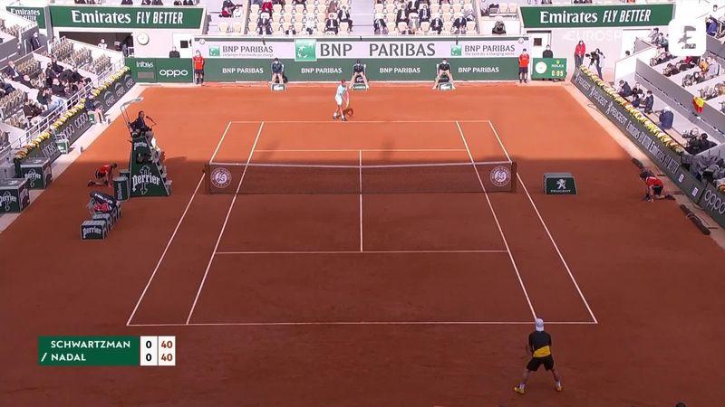 Maç Özeti | Diego Schwartzman - Rafael Nadal