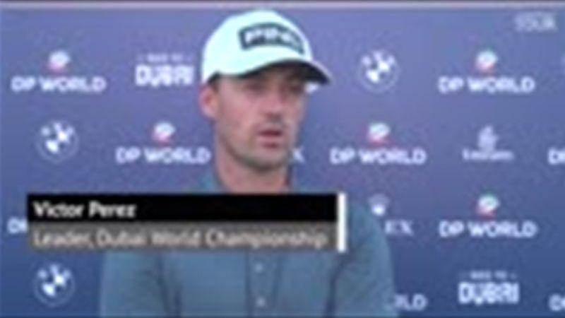 """Dubaï World Championship - Perez """"satisfait"""" de sa première journée"""