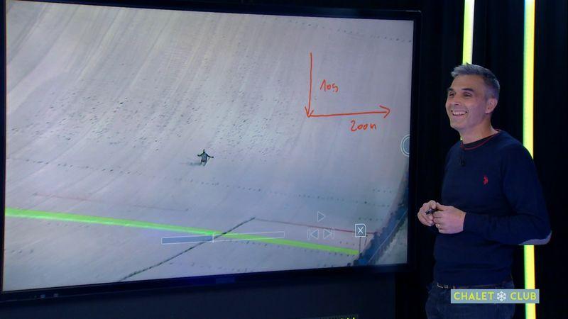 Décoller puis atterrir deux terrains de foot plus loin : le vol à ski décrypté