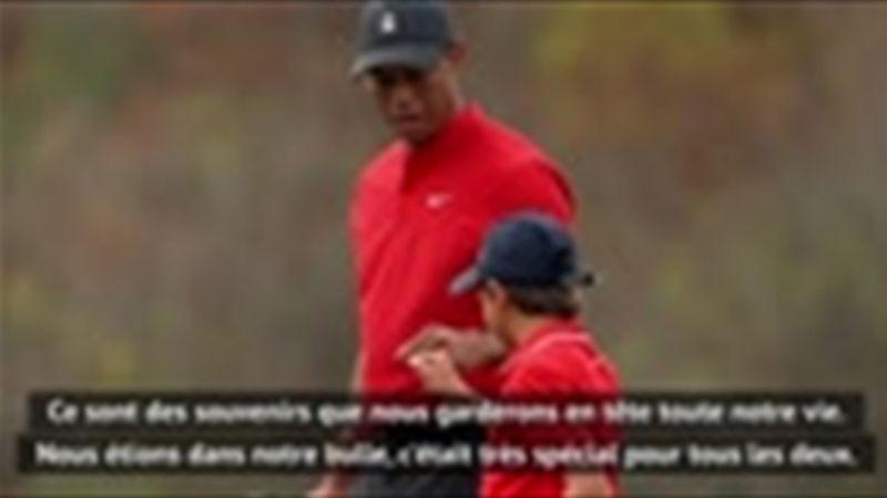 PNC Championship - Woods évoque sa relation avec son fils Charlie