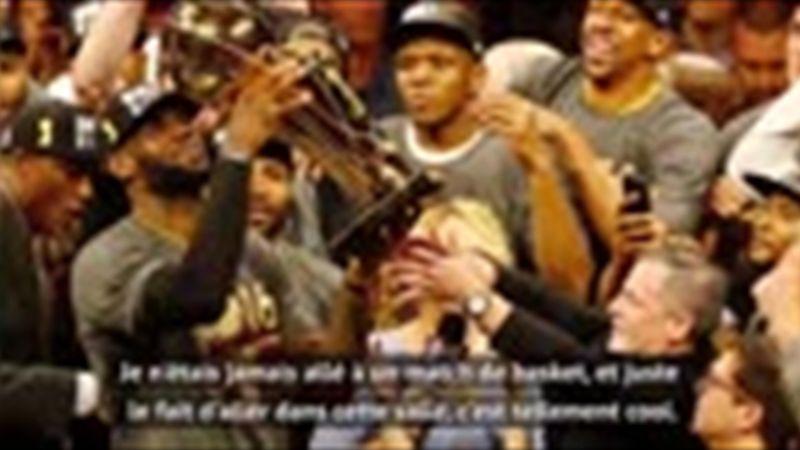 """Browns - Gillan : """"LeBron James est un dieu à Cleveland"""""""