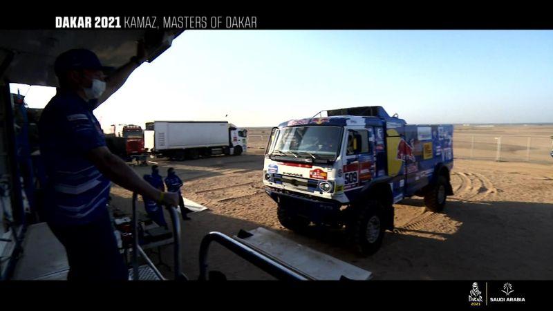 Dakar, i segreti del Team Kamaz, i maestri della Dakar